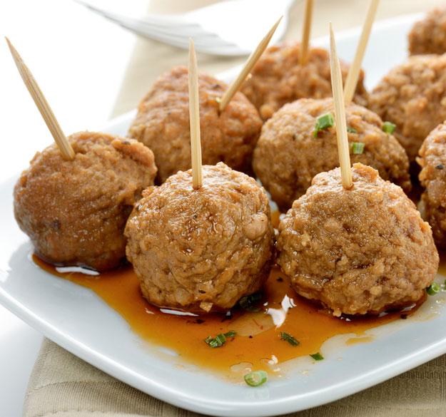 Healthy Italian Meatballs