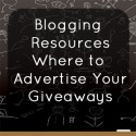 Where to Advertise Your Giveaways