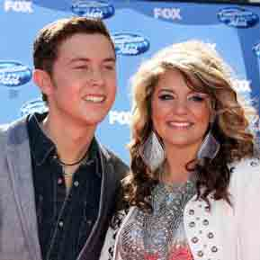 Pre-Order CD's Clear as Day : Scotty McCreery and Wildflower : Laura Alaina