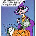 Maxine on Halloween