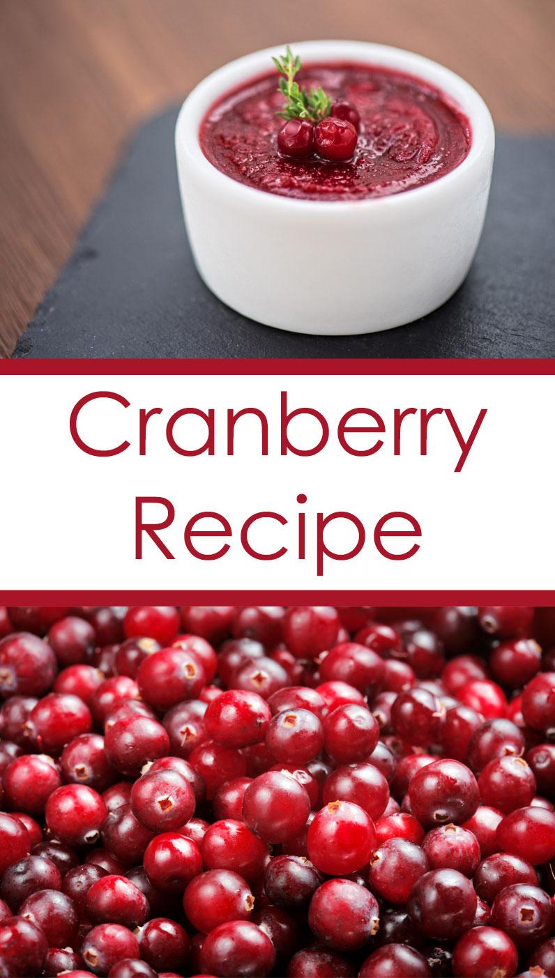 Holiday SPice Cranberry Recipe