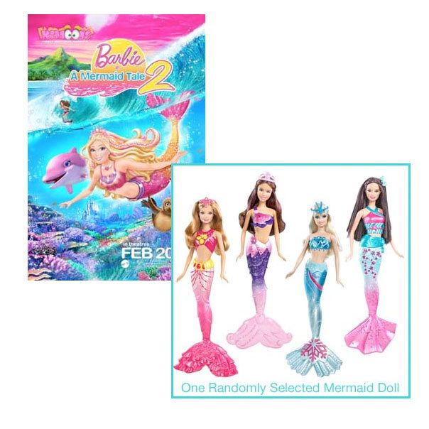 Free Barbie In A Mermaid Tale 2 Coloring Pages