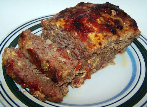 Spicy Meatloaf Kickin It