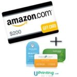 UPrinting Buisness Card and $200 Amazon Gift Card Giveaway : (Ends 4/30)