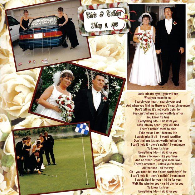 Chris miles wedding