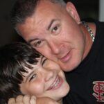 Nick and his dad!
