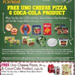 FREE Uno's Pizza and Coca Cola Coupon