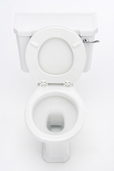 Overhead View Of Toilet