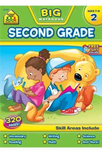 big second grade book