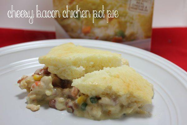 Cheesy Bacon Chicken Pot Pie