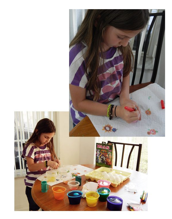 decorating-easter-eggs