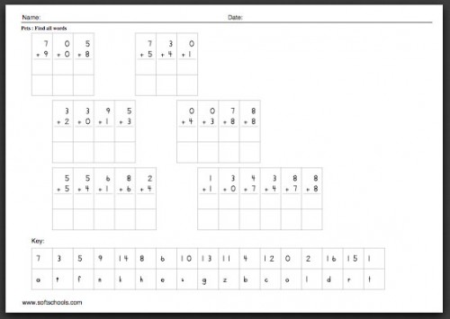 math-worksheets