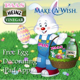 PAAS/Heinz Egg Decorator : Decorate an Egg Donate a Dollar