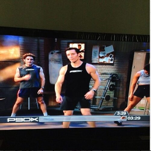 Another great P90X workout done!