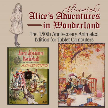 Alicewinks for iPad with iBooks : Read  Watch and Listen With Your Children