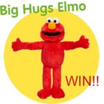 A Holiday Must Big Hugs Elmo