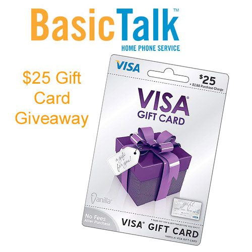 Security And Piece Of Mind With BasicTalk $25 Visa Gift