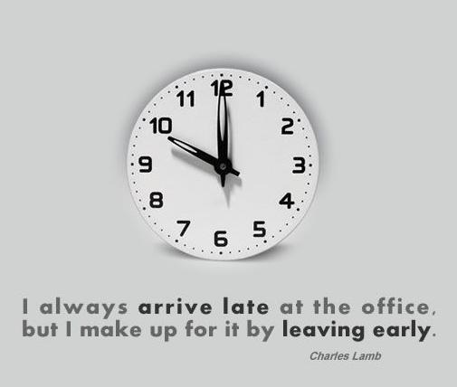 Yep that it is me (the being late part)