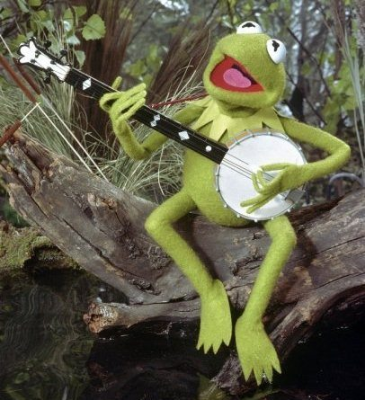 Kermit banjo lefty