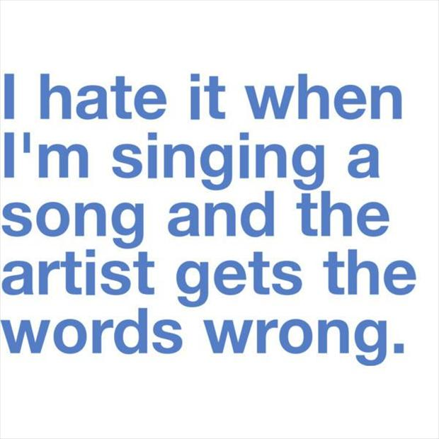 Not only can I not sing but this is how I sing LOL!