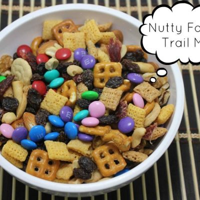 Nutty Family Trail Mix Recipe Inspired by The Nut Job