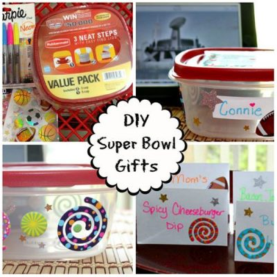 DIY Super Bowl Party Thank You Gifts