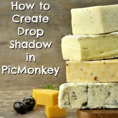 How to Add Drop Shadow With PicMonkey