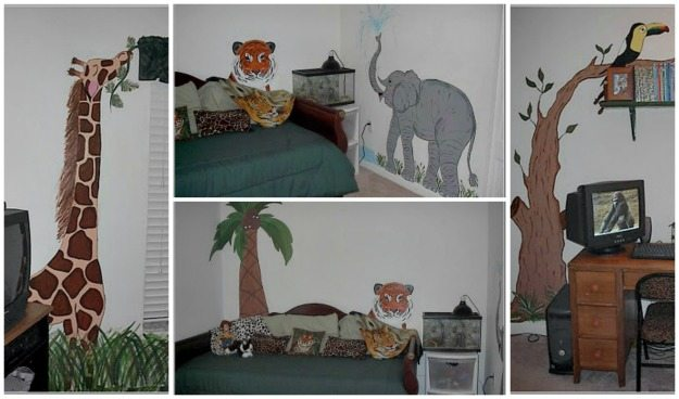safari-themed-mural