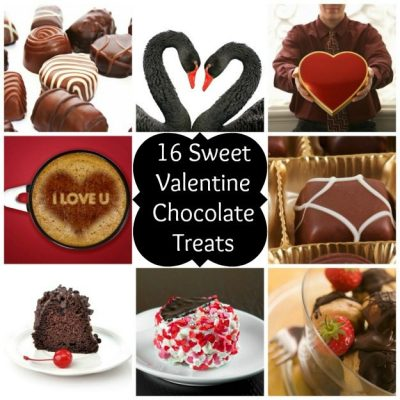 16 Sweet Chocolate Treats for Valentine's Day