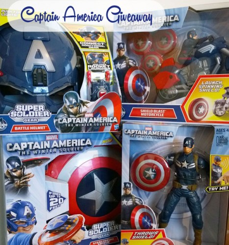 Captain America Giveaway #SSCapAm