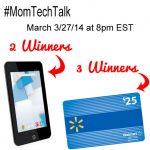 Twitter Party #MomTechTalk 3/27 8pm EST