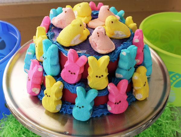 peeps-cake