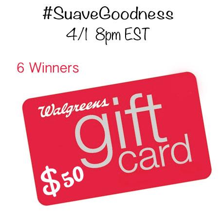 Twitter Party #SuaveGoodness 4/1 8pm EST