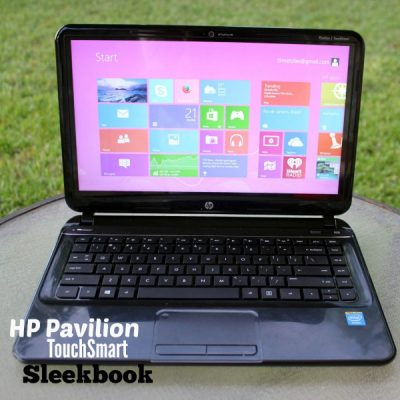 The HP Pavilion TouchSmart Sleekbook is a H-I-T!
