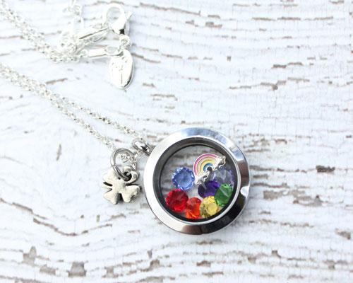 rainbow-locket