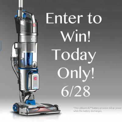 Hoover® Air™ Cordless Vacuum Giveaway 2 Winners : (Ends 6/28)