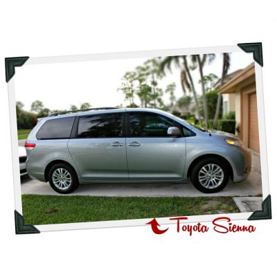 My New Toyota Sienna and the New #SwaggerWagon