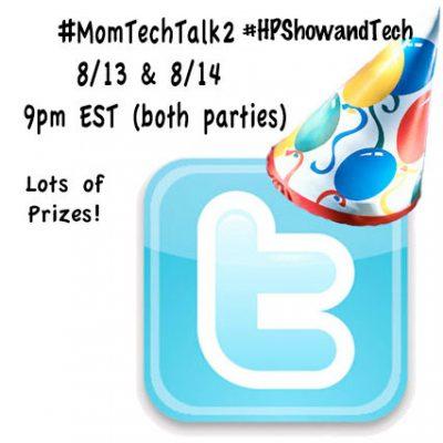 Twitter Party #MomTechTalk2 8/14 9pm EST