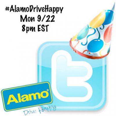 #AlamoDriveHappy Twitter Party 9/22 @ 8pm EST