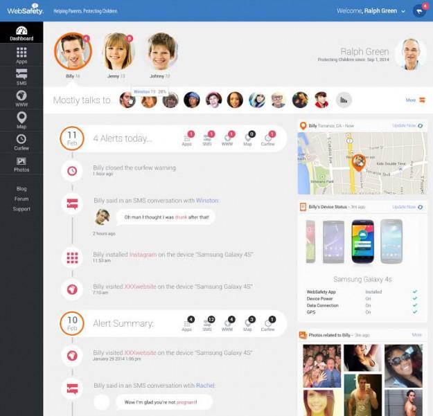 WebSafety App