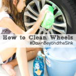 How To Clean Your Wheels : Dawn Beyond the Sink