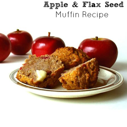 Apple and Flax Seed Muffin Recipe