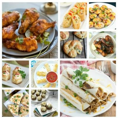 25 Easy Party Appetizers