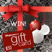 Personalize Your Gift with a Photo Walgreens $50 Gift Card Giveaway : (Ends 12/31)