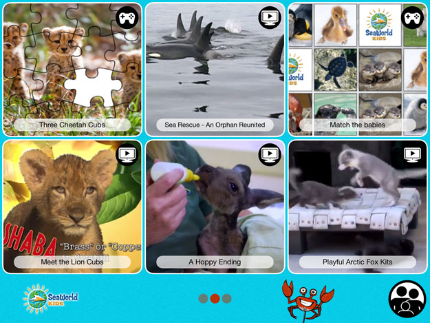 Baby Animals : Cute and Cuddly Animal Babies App by SeaWorld®Kids