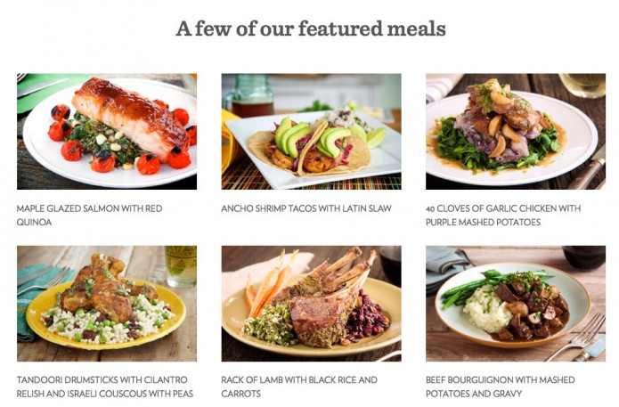 Chef'd Featured meals