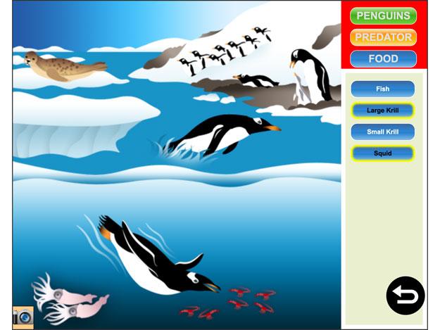 Penguins Playground App by SeaWorld Kids