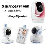 3 Chances to Win a Foscam Baby Monitor Giveaways : (Ends 3/9)