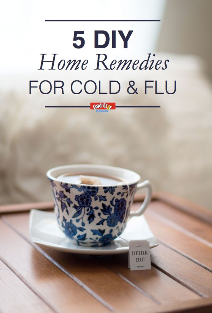 5 DIY Home Remedies for the Cold & Flu Season