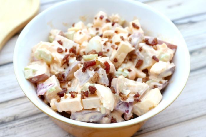 The Best Buffalo Two Potato Salad Recipe